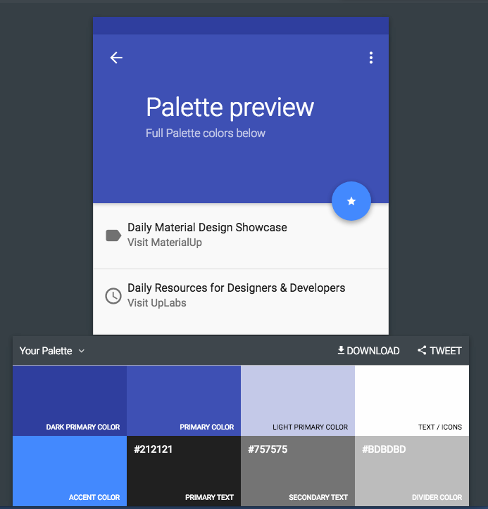 Palette-Preview