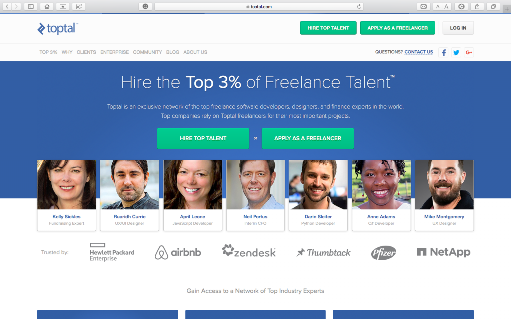 best freelance websites