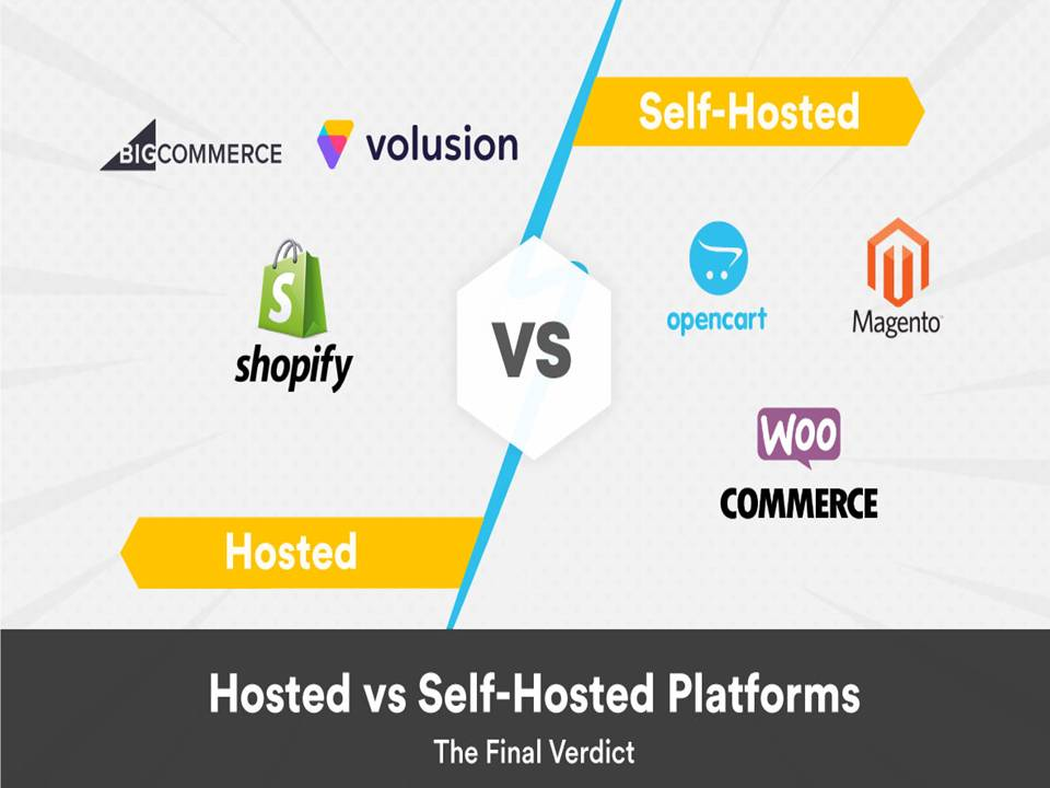 Hosted vs self hosted platform