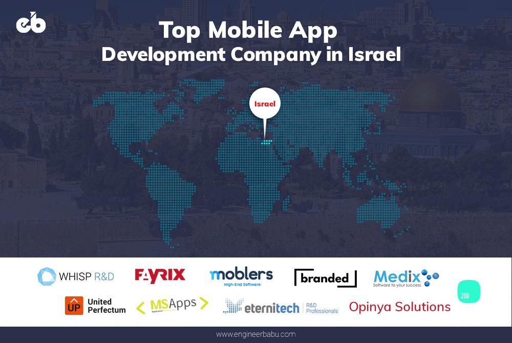 Top mobile app development company in israel